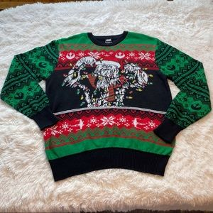 Star Wars Chewbacca Christmas Sweater Size Large